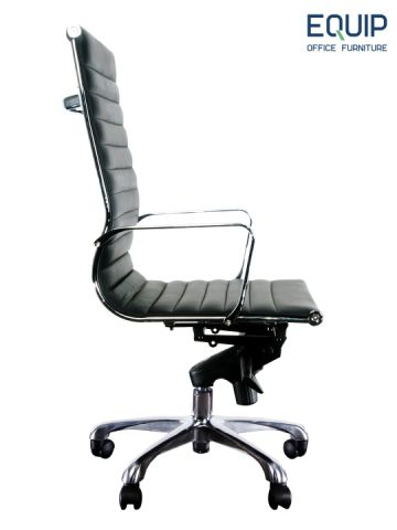 FORTE HB LEATHER BOARDROOM CHAIR - FREE BOXED SHIPPING SYD METRO