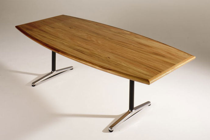 H9000 NATURAL TIMBER VENEER CONFERENCE TABLE RANGE