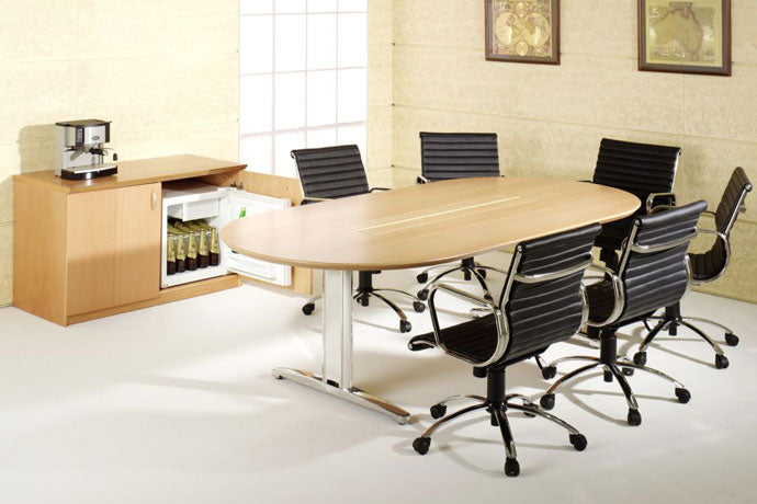 H9000 NATURAL TIMBER VENEER EXECUTIVE DESK RANGE