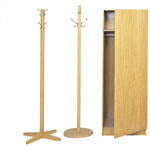 HAT AND COAT STANDS IN TIMBER