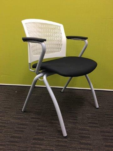 SHOWROOM CLEARANCE STOCK - EURO CLIENT CHAIR WAS $199 NOW $49 SAVE 75%