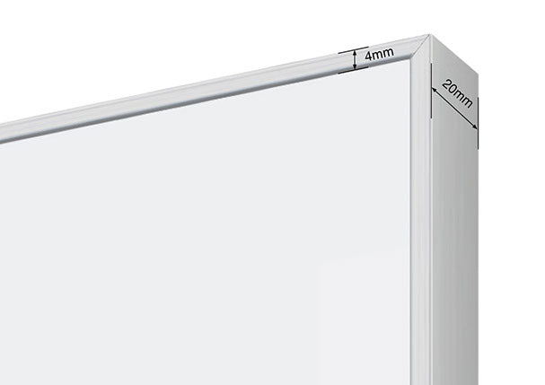 EDGE LX6000 MAGNETIC WHITEBOARD