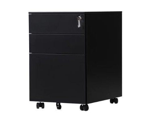EQ MOBILE PEDESTALS IN BLACK