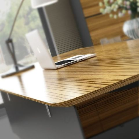 NOVARA TIMBER VENEER EXECUTIVE DESKS