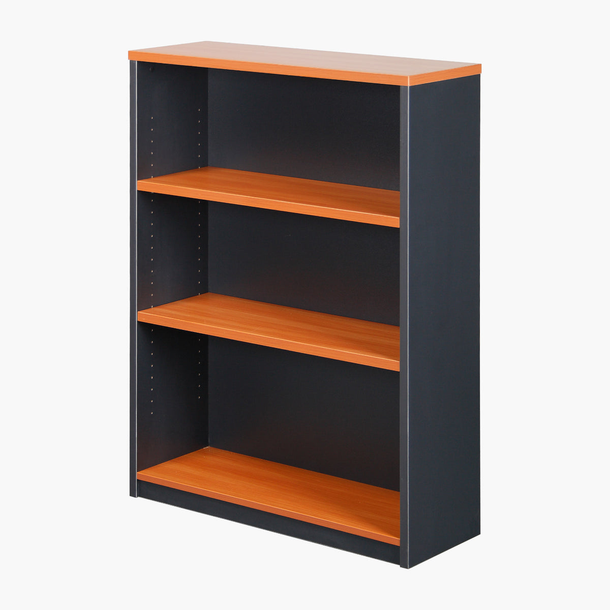 TWO-TONE OPEN BOOKCASES