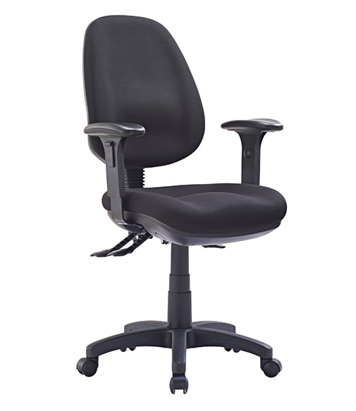 P350 MB TASK CHAIR - FREE BOXED SHIPPING SYD, BRIS & MEL, METRO AREAS