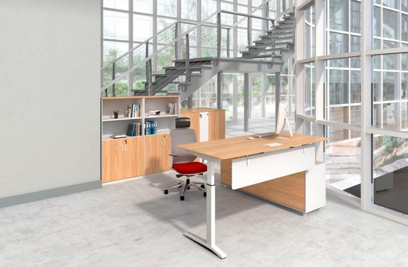 POTENZA ELECTRIC HEIGHT ADJUSTABLE DESK - FREE GROUND FLOOR DELIVERY & INSTALLATION SYD & MEL METRO