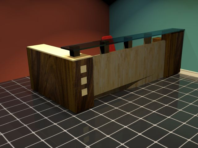 CUSTOM MADE RECEPTION DESKS 2 - 6 NEW DESIGNS & OUR CUSTOM DESIGN SERVICES