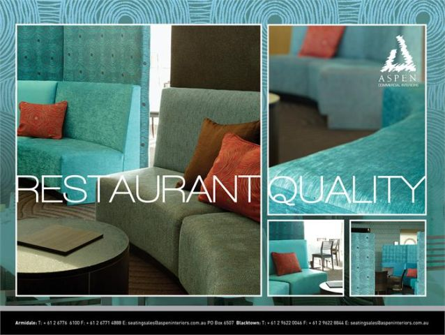 RESTAURANT FURNITURE AND FITOUT