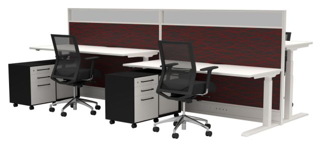 STRATA ELECTRIC SIT N STAND DESKS