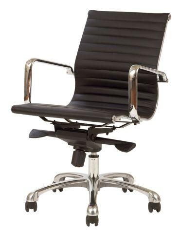 FORTE MB LEATHER CHAIR - FREE BOXED SHIPPING SYD METRO