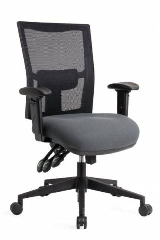 JORDAN 'HEAVY DUTY' MESH BACK CLERICAL CHAIR 160KG RATED