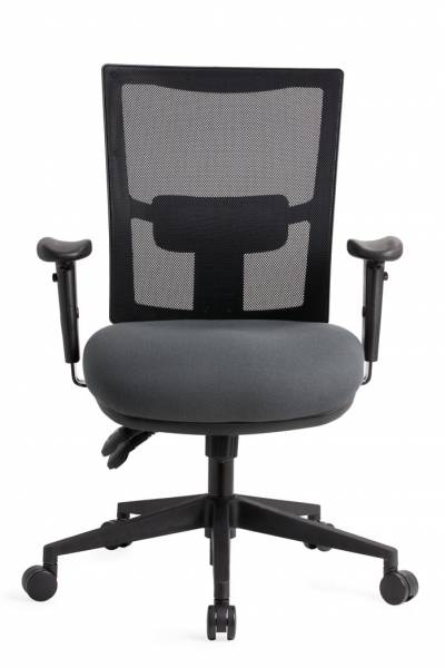 JORDAN MESH BACK CLERICAL CHAIR 135KG RATED