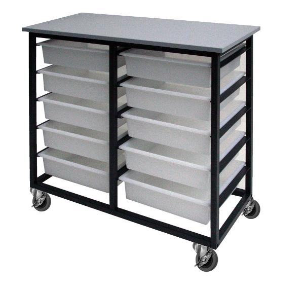 METAL TOTE TROLLEYS