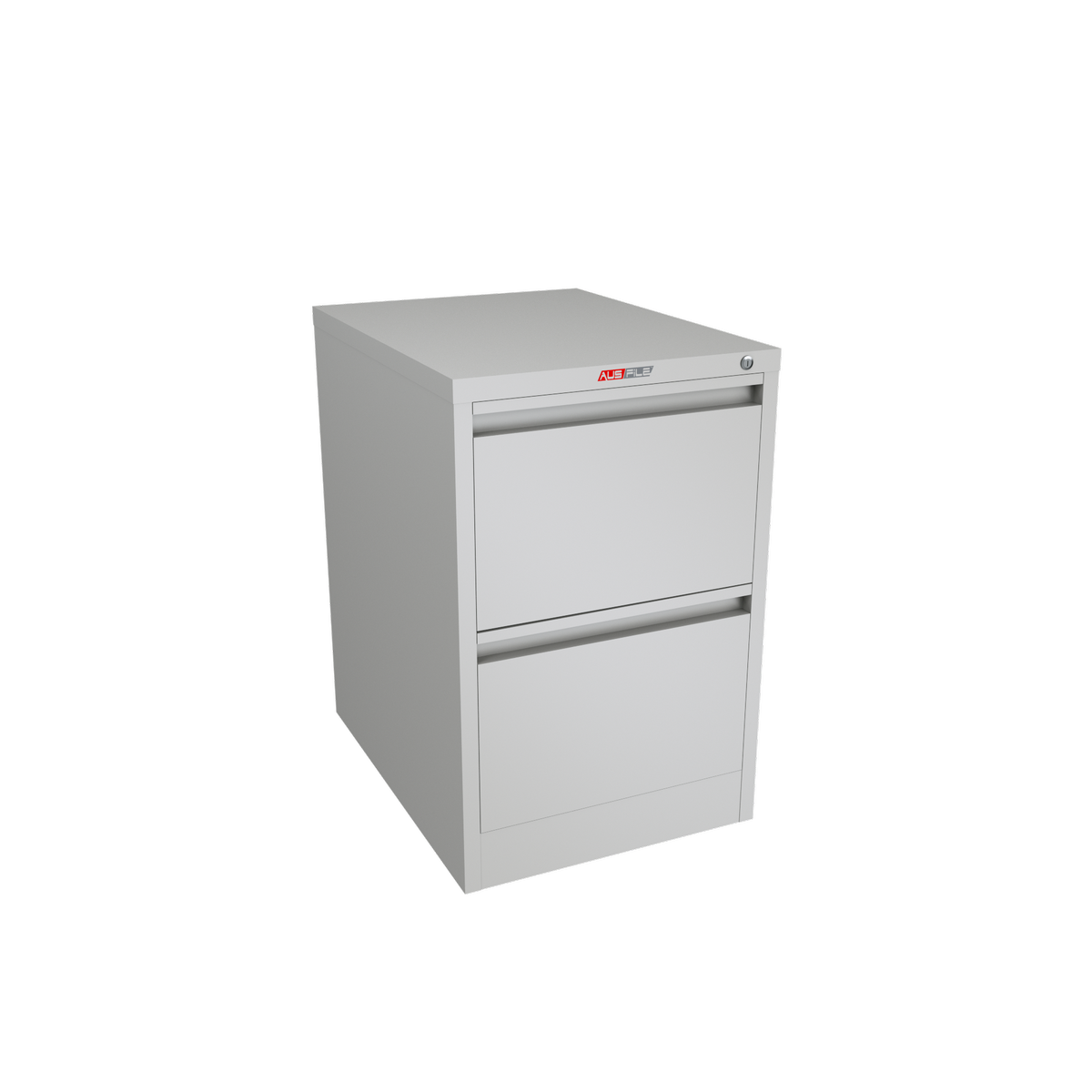 AUSFILE 2 DRAWER FILING CABINET