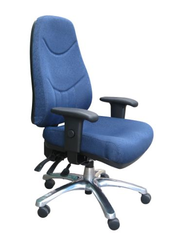ALPHA HEAVY DUTY HIGH BACK CLERICAL CHAIR