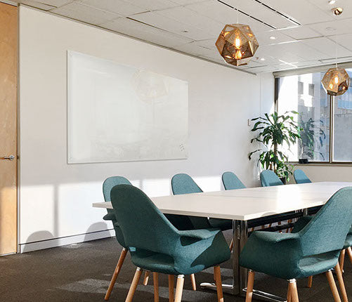 LUMIERE MAGNETIC GLASSBOARDS - FREE BOXED DELIVERY SYD, BRIS & MELB METRO / INSTALLATION AVAILABLE (POA)