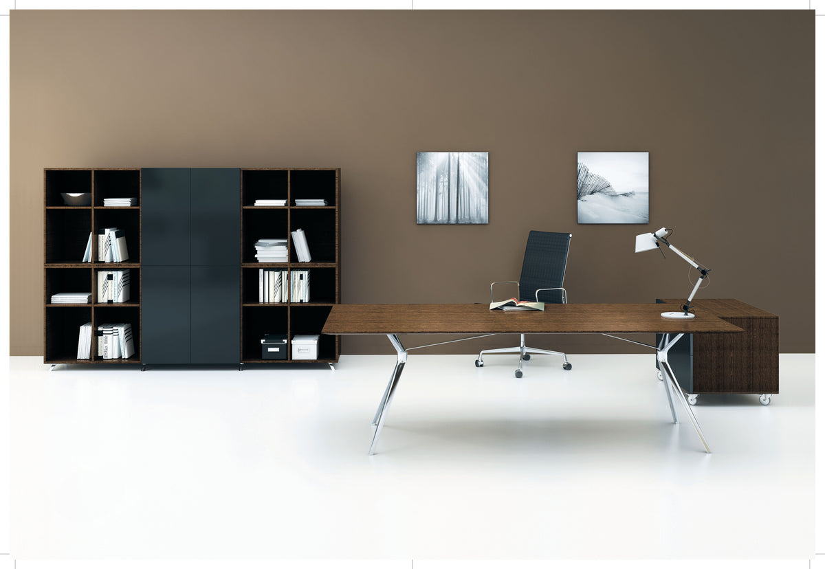 FORZA EXECUTIVE DESK *** 10 WEEK LEAD TIME ON TIMBER & WHITE DESKTOPS ***