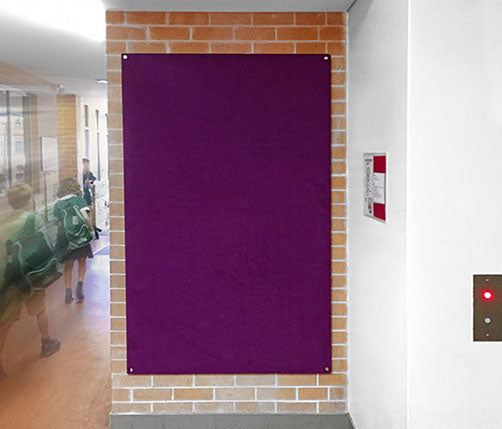 UNFRAMED WRAPPED VELOUR PINBOARDS