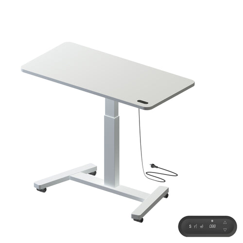 MOBILE SIT-STAND HEIGHT ADJUSTABLE DESK
