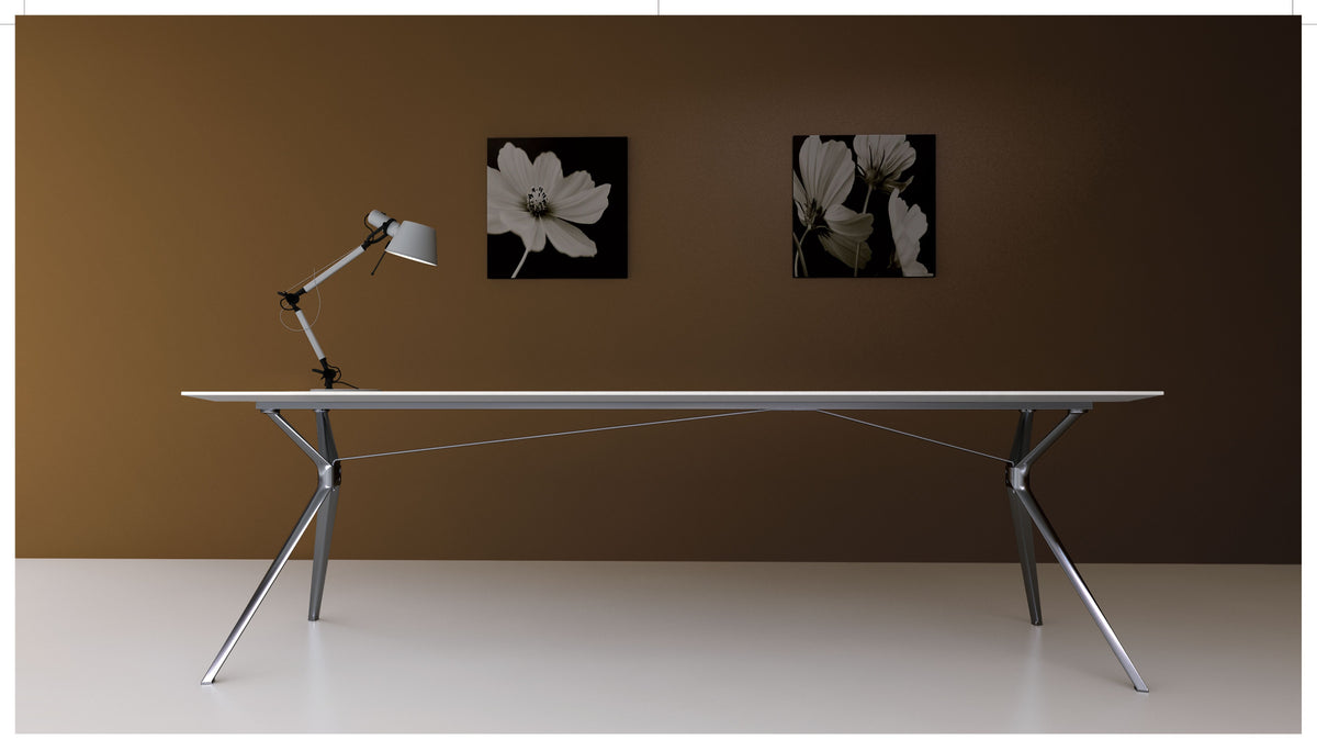 FORZA EXECUTIVE DESK / COFFEE TABLES *** 10 WEEK LEAD TIME ON WALNUT & WHITE DESKTOPS ***