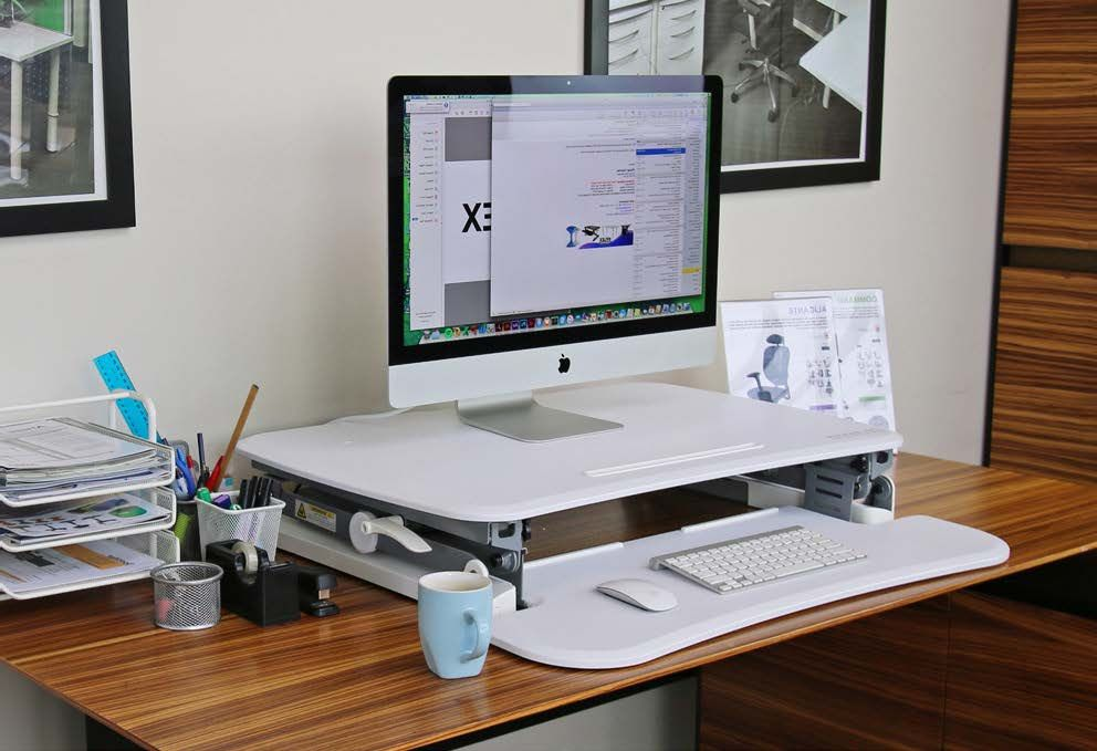ARISE DESKALATOR WITH FREE ANTI-FATIGUE MAT