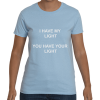 Ladies Light Blue T-Shirt