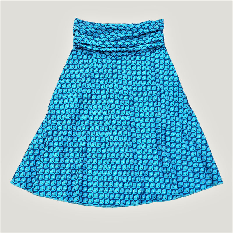 Blue Lotus Flower - Skirt & Dress