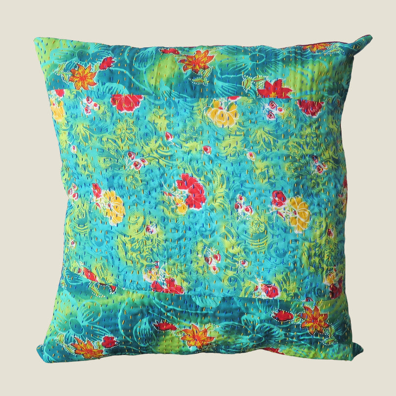 Recycled Patchwork Kantha Cushion Cover - 70