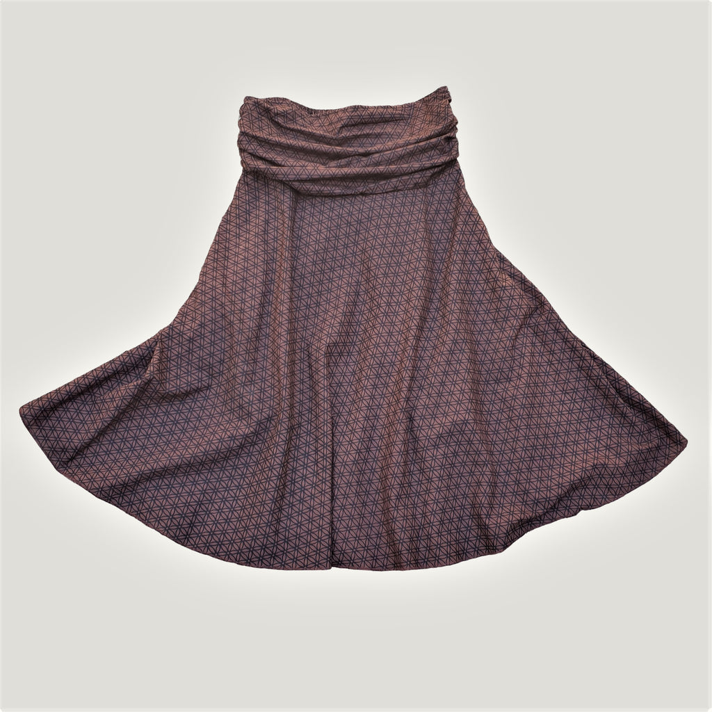 Brown Seed of Life - Skirt & Dress