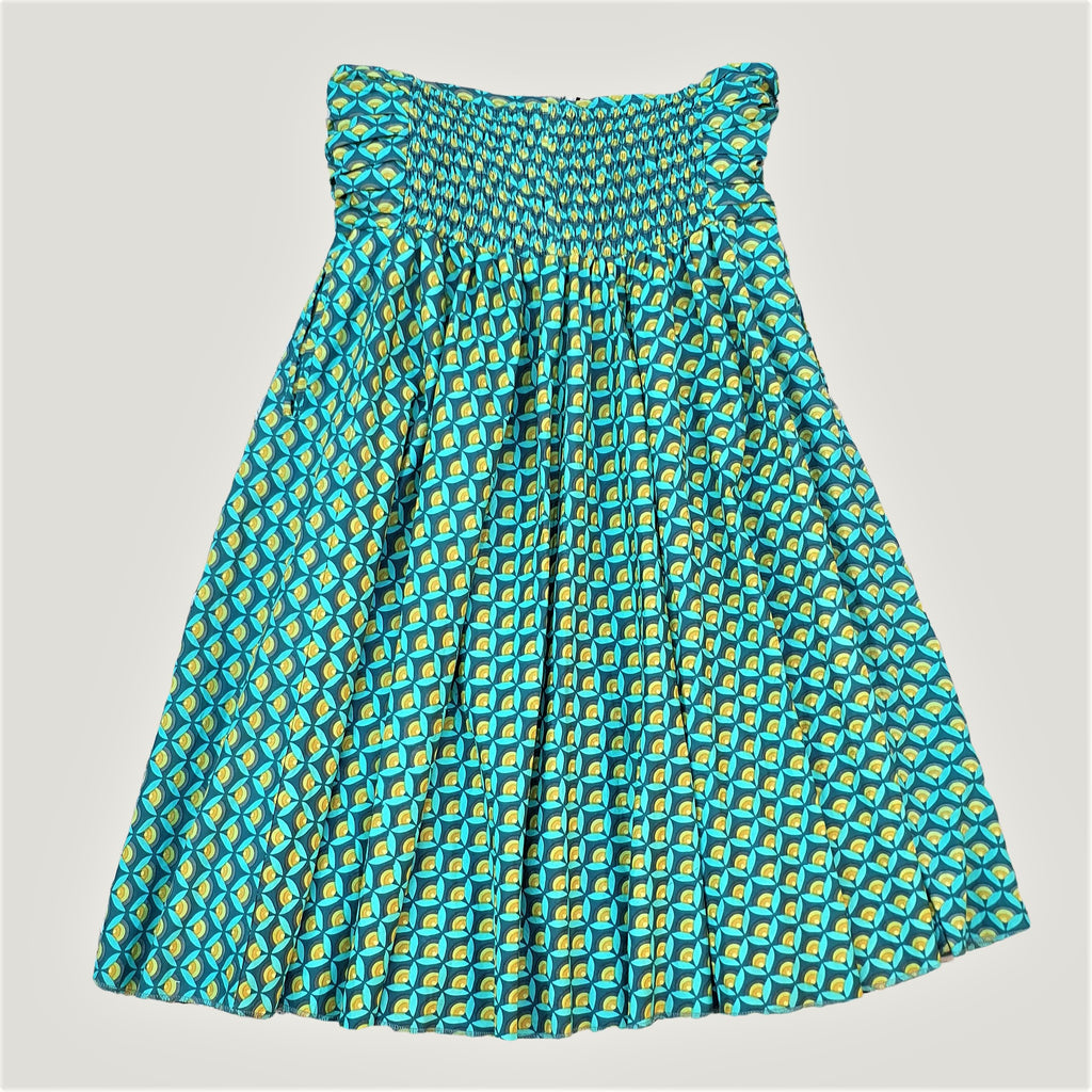Green Lotus Flower - Skirt & Dress