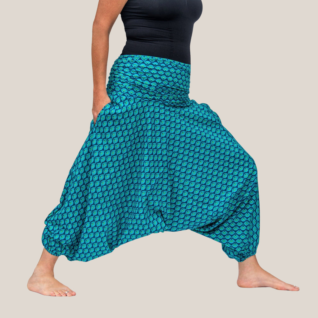 Blue Lotus - Yoga Pants, Harem Trousers & Jumpsuit