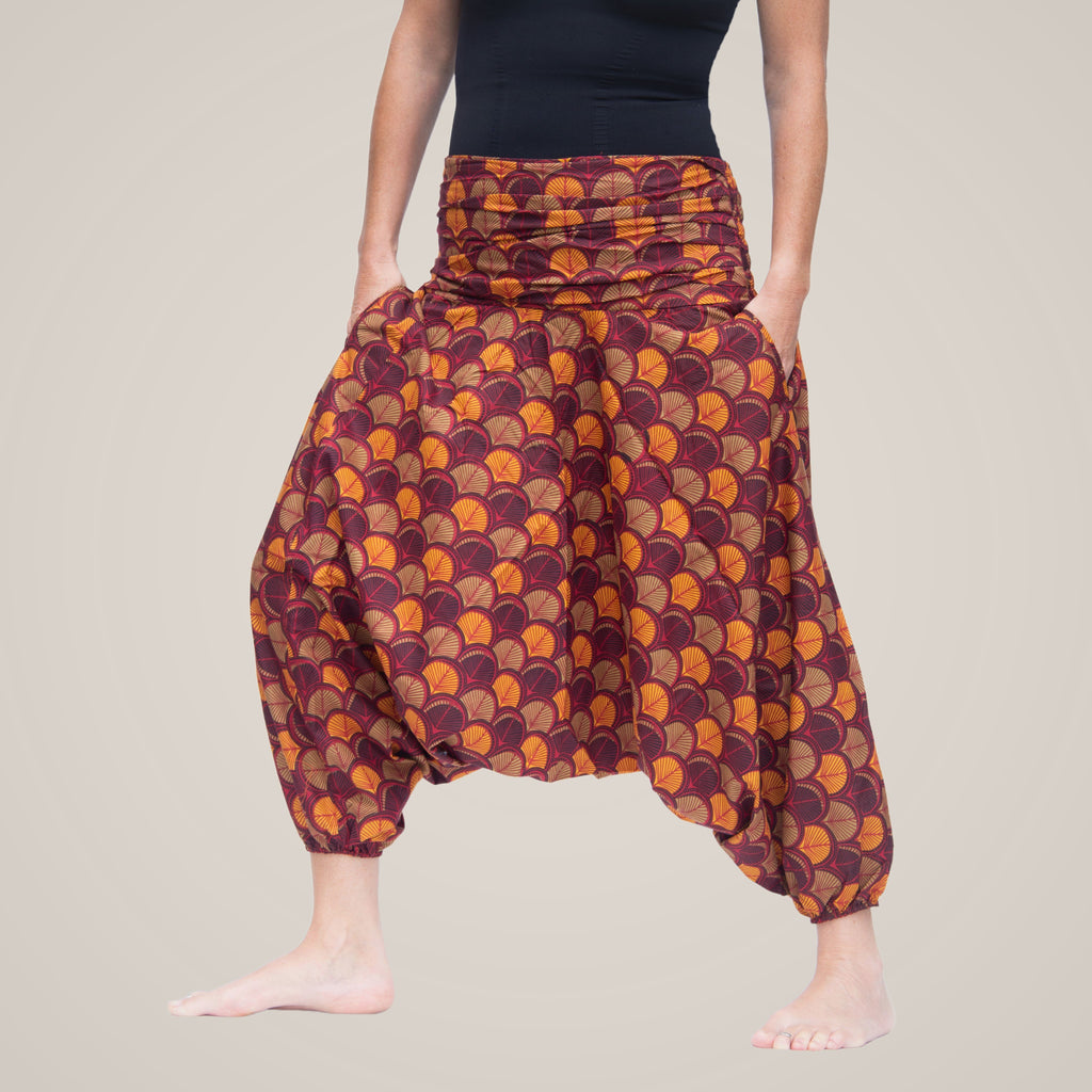 Orange Leaf - Yoga Pants, Harem Trousers & Jumpsuit