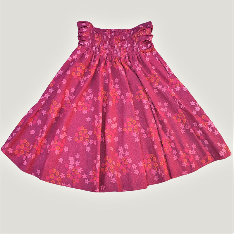 Pink Spiral Flower - Skirt & Dress