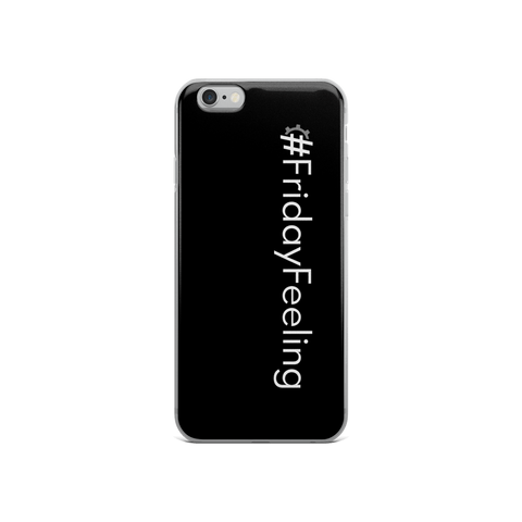 #FridayFeeling iPhone Case