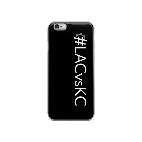 #LACvsKC iPhone Case