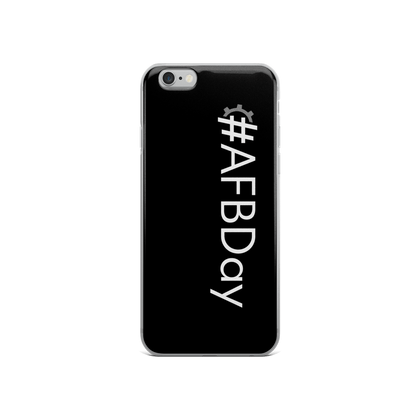 #AFBDay iPhone Case