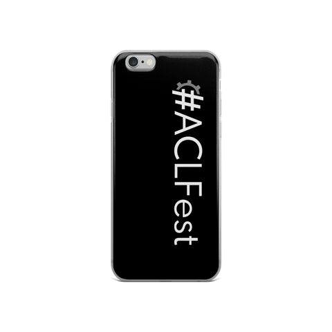 #ACLFest iPhone Case
