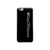 #DayOfSilence iPhone Case