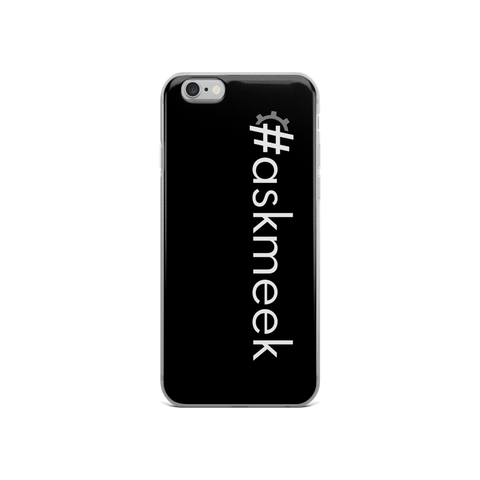 #askmeek iPhone Case