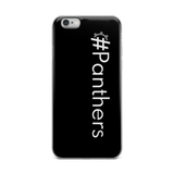 #Panthers iPhone Case