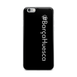 #BarçaHuesca iPhone Case