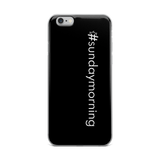 #sundaymorning iPhone Case