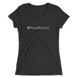 #HalaMadrid Women's Triblend Fitted T