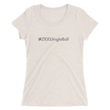 #Z100JingleBall Women's Triblend Fitted T