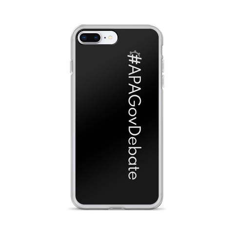 #APAGovDebate iPhone Case