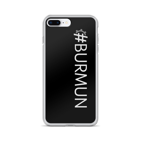 #BURMUN iPhone Case
