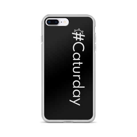 #Caturday iPhone Case