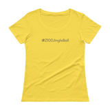 #Z100JingleBall Women's Scoopneck T