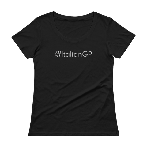 #ItalianGP Women's Scoopneck T